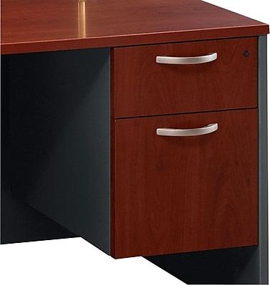 Bush Business Furniture Westfield 2 Drawer 3/4 Pedestal, Hansen Cherry (WC24490)