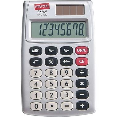 Staples SPL-120-CC 8-Digit Display Calculator