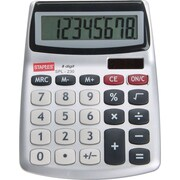 Staples® SPL-230 8-Digit Display Calculator, 20 Pack, Silver