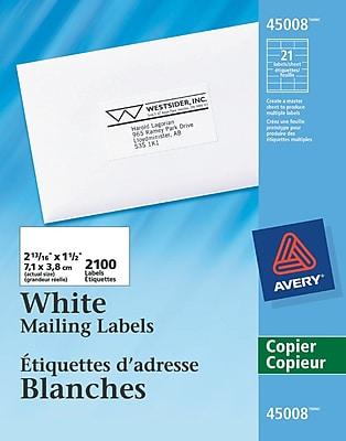S&S® Economy Precut Mat Assortment White, 60/Pack