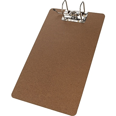 Merangue Hardboard Clipboard with Arch Clip, Legal, 9