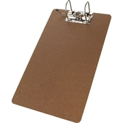 "Merangue Hardboard Clipboard with Arch Clip, Legal, 9"" x 15-1/2"""