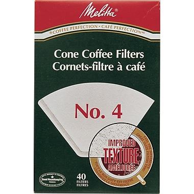 Melitta - Filtre à café, genre cône, n° 4