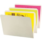 Oxford® Recycled Straight-Cut Interior File Folders, Ivory