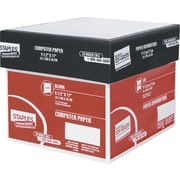 Staples® - Papier informatique blanc, 2 parties, 16 lb, 9½ x 11 po