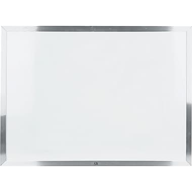 Staples Melamine Marker Board With Aluminum Frame 24 X 36 Staples