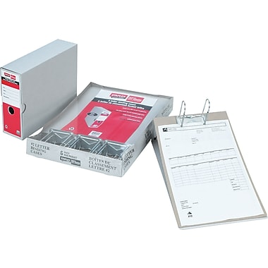 Staples® Binding Case, Invoice #6, 10-1/4