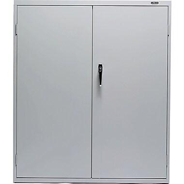 ProSource - Armoire de rangement verrouillable en acier, 42 po, gris