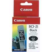 Canon® BCI-21 Black Ink Tank (0954A003)