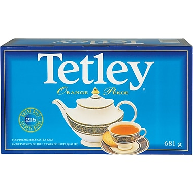 Tetley Orange Pekoe Tea, Regular, 681g