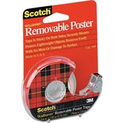 Scotch™ Wallsaver Removable Double-Sided Tape, 18mm x 3.81m