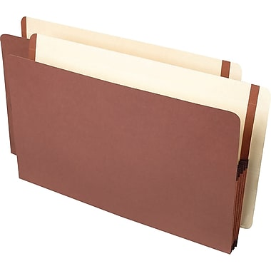 Pendaflex® Premium Reinforced End Tab File Pocket, 3-1/2