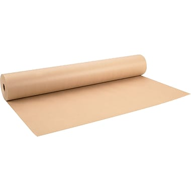 ICONEX/NCR Brown Kraft Postal Wrap Paper, 15 lb, 24