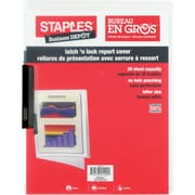 Staples® - Protège-feuilles Latch 'n Lock en poly