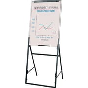 "Quartet® Futura Adjustable/Convertible Presentation Easel with Whiteboard, 26"" x 35"""