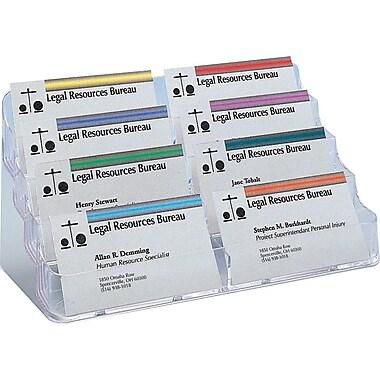 Staples® - Porte-cartes professionnelles, 8 compartiments