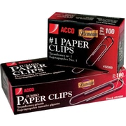 Acco® Premium Quality Paper Clips