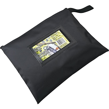 Merangue Nylon Deposit Bag with Zipper