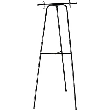 Quartet® Black Magic 2-Ring Convertible/Adjustable Presentation Easel, 67