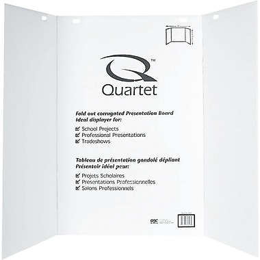 Quartet® Project & Presentation Display Board, 48
