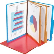 Pendaflex® Coloured PressGuard® Classification Folders with # 1 and 3 Fastener Position