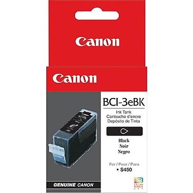 Canon® BCI-3eBk Black Ink Tank (4479A003)