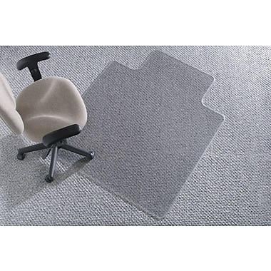 Staples® Medium-Pile/Berber Chairmat, Traditional, 45