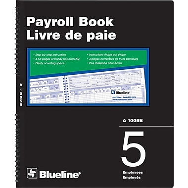 Blueline® Payroll Books