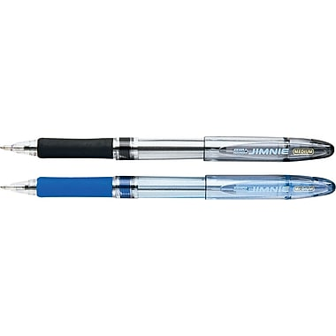 Zebra® Jimnie Ballpoint Pen, 1.0 mm, 8/Pack