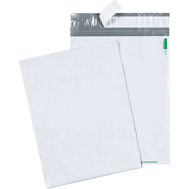 Quality Park - Enveloppes blances en poly 10 po x 13 po, bte/100 - Redi-Strip