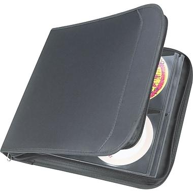 Staples 128 CD Wallet, Black, 11.7