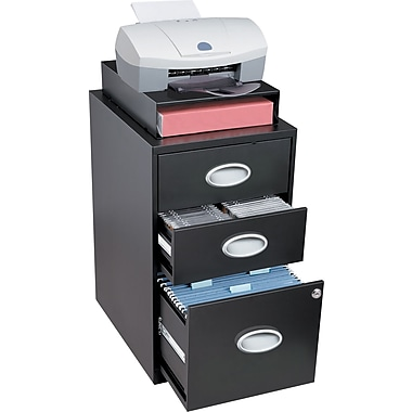 Exceptional Situations 3 Drawer File And Storage Cabinet, Black Awesome Ideas