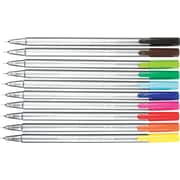 Staedtler® Triplus Fineliner Pens, 0.3 mm, Assorted, 10/Pack