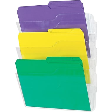 Staples Unbreakable Wall Files, 3/Pack
