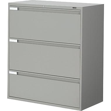 Global® - Classeurs latéraux de série 9100 Plus, 3 tiroirs