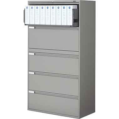Global® 9100 Plus Series Lateral File Cabinets, 5-Drawer