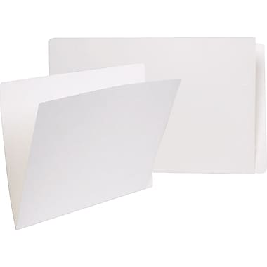 Pendaflex® Reinforced Full End-Tab File Folder, 13-1/2 pt., Letter Size, White, 100/Pack