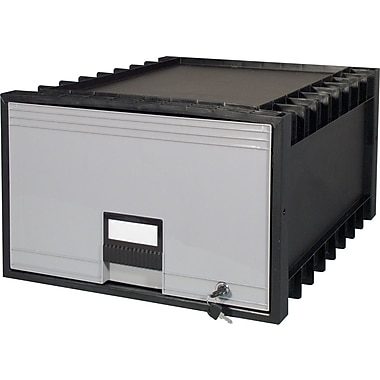 Storex Stacking Archive/File Drawer, Legal