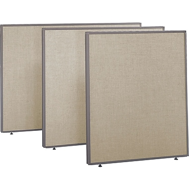 "Bush® ProPanel Collection Privacy Panel, 48"" x 42"", Harvest Tan"