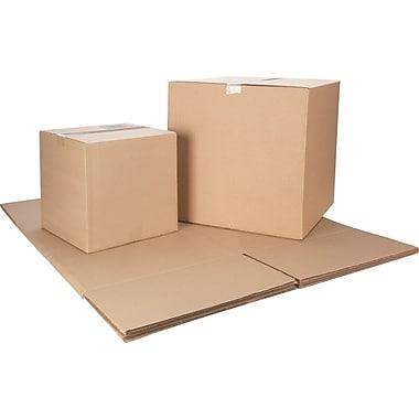 Boîte en carton ondulé ICONEX/NCR, brun Kraft, 6 po x 6 po x 6 po, (9435-0923)