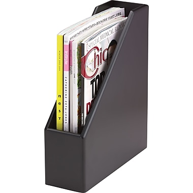 Wood Tones™ Black-Finish Magazine File