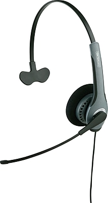 GN Netcom 2010ST Corded SoundTube Headset, Foam Ear Cushion, Monaural