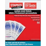 Staples® Custom Event Tickets