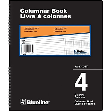 Blueline® A767 Series Columnar Books