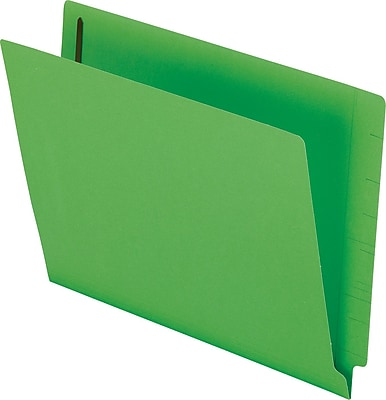 Pendaflex® Colored Reinforced End Tab Expansion Folder with Fasteners, Green