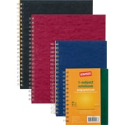 """Staples® 1 Subject Notebook, Assorted, 11"""" x 9"""""""