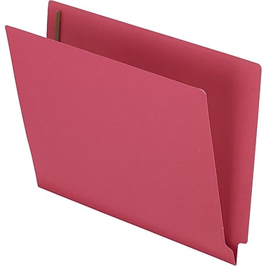 Pendaflex® Colored Reinforced End Tab Expansion Folder with Fasteners, Red