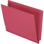 "Esselte® Letter Straight Cut Recycled Classification Folder w/3/4"" Expansion, Red, 50/Pack"