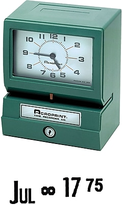 Acroprint (150RR4) Heavy-Duty Electronic Print Time Clock