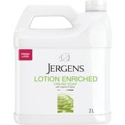 Jergens® – Savon en crème pour les mains, 2 l